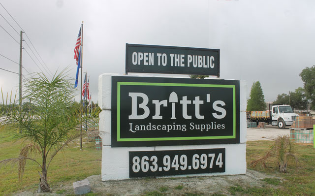 Britt's Landscaping Supplies